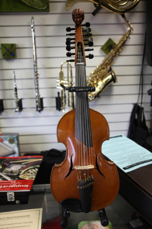 Petr's Violin Shop offers new and used quality  violins in Anchorage, Alaska.