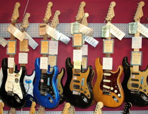 Anchorage Music Store - Petr's ViolinsGuitars