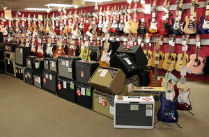 Buy Guitars and Amps in anchorage at Petr's Violins & Guitars